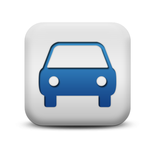 Icon of a car which represents motor trade insurance