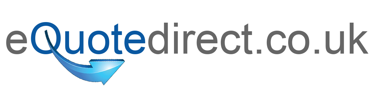 equote direct logo with blue arrow